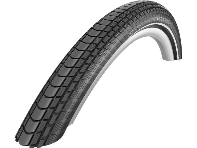 "SCHWALBE Marathon Almotion Evo Folding Tyre TLE OneStar Reflex 28x2.00"", black"